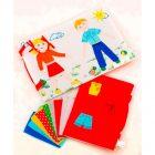 Одевайка игровая папка (лэпбук для детей)