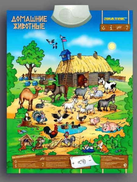 Электронный плакат Домашние животные купить в интернет-магазине robinzoniya.ru.