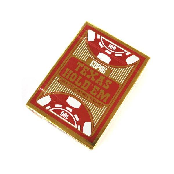 Пластиковые покерные карты Copag Texas Holdem