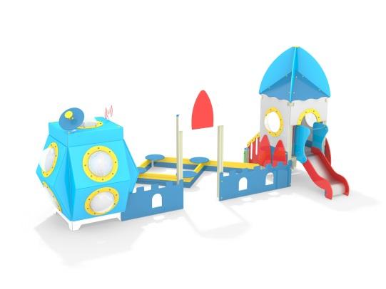 Игровой комплекс Космостанция МФ 3.48 купить в Воронеже в интернет-магазине robinzoniya.ru.