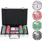 Набор для покера Nuts, 200 фишек