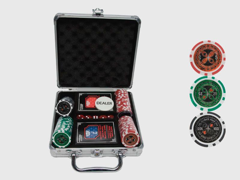 Набор для покера Ultimate на 100 фишек купить в Воронеже в интернет-магазине robinzoniya.ru.