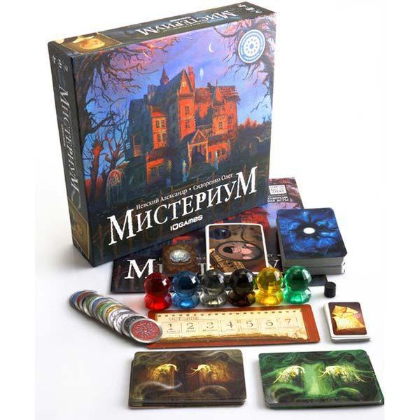 Настольная игра Мистериум купить с доставкой по России в интернет-магазине robinzoniya.ru.