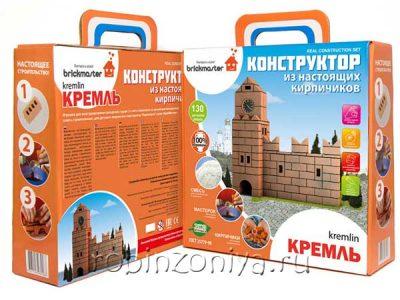 Конструктор кирпичики Кремль