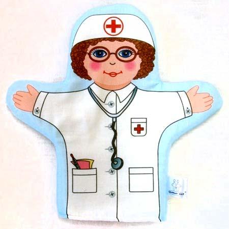 Кукла рукавичка Врач купить с доставкой по России в интернет-магазине robinzoniya.ru.
