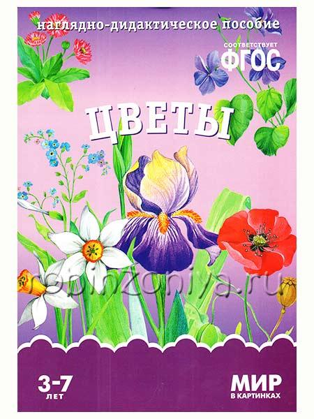 Наглядный материал по ФГОС Цветы купить в интернет-магазине robinzoniya.ru.