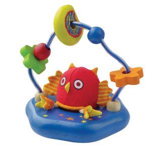 Игрушка Птенчик и бусины