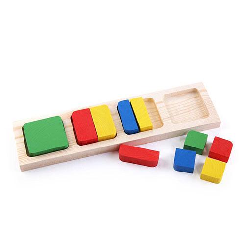 Рамка с вкладышами Геометрия квадраты от Томик купить можно в магазине Робинзония.