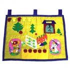 Лесная школа мягкий развивающий коврик (лэпбук для детей)