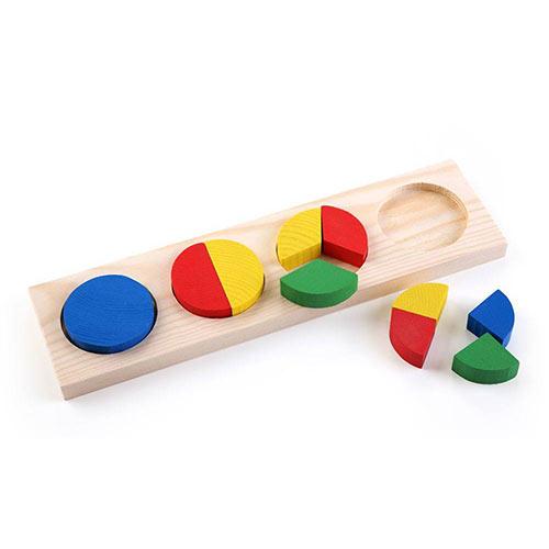 Рамка с вкладышами Геометрия круг от Томик купить можно в магазине Робинзония.