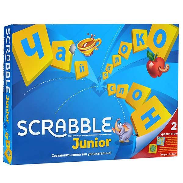 Настольная игра Скрэббл Джуниор купить в интернет-магазине robinzoniya.ru.