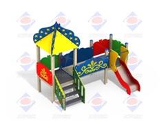 Детский игровой комплекс 2.074 Звездочет Н=700
