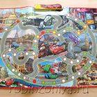 Звуковой плакат-игра Тачки Правила дорожного движения,Умка