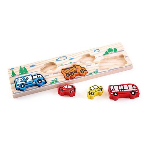 Рамка с вкладышами Транспорт от Томик купить можно в магазине Робинзония.