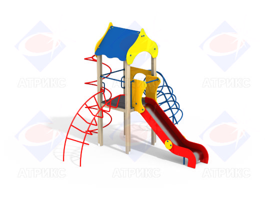 Детский игровой комплекс 1.011 купить в Воронеже купить в Воронеже в интернет-магазине robinzoniya.ru.