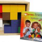 Кубики для всех, фанерная коробка
