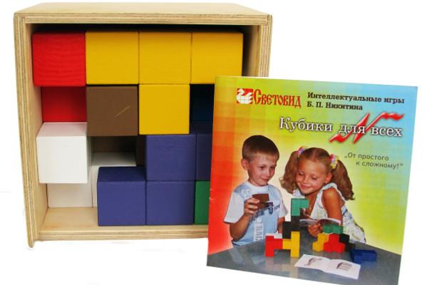Кубики для всех для игр по методике Никитиных купить в интернет-магазине robinzoniya.ru.