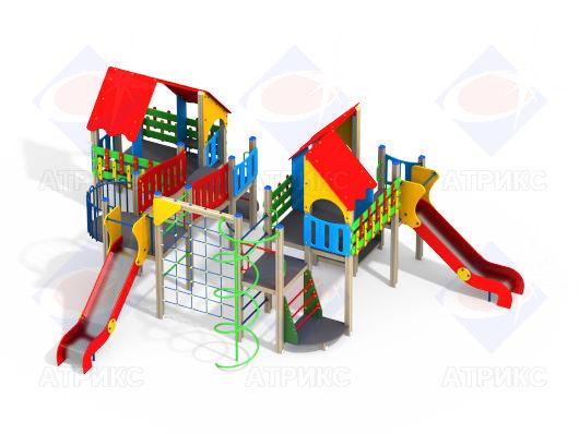 Детский игровой комплекс 9.16 купить в Воронеже в интернет-магазине robinzoniya.ru.