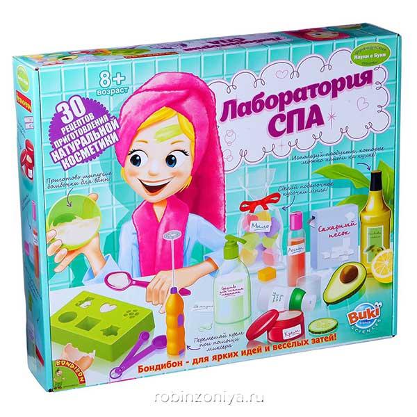 Набор опытов Лаборатория спа от Bondibon купить в интернет-магазине robinzoniya.ru.