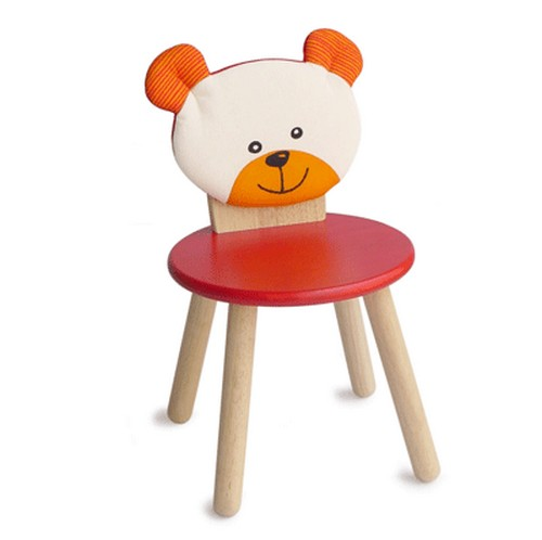 Детский стул деревянный I m toy мишка купить в интернет-магазине robinzoniya.ru.