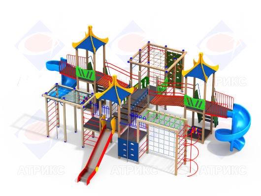 Детский игровой комплекс 5.05-15 купить в Воронеже в интернет-магазине robinzoniya.ru.