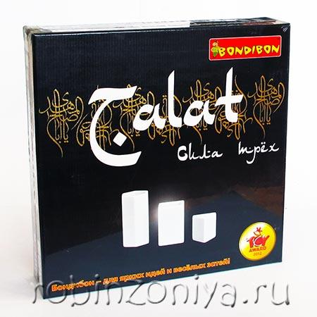 Игра логическая BONDIBON TALAT Сила трех купить в интернет-магазине robinzoniya.ru.