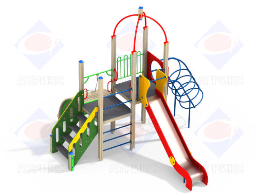 Детский игровой комплекс 1.226 купить в Воронеже в интернет-магазине robinzoniya.ru.