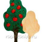 Набор для росписи Дерево большое, среднее