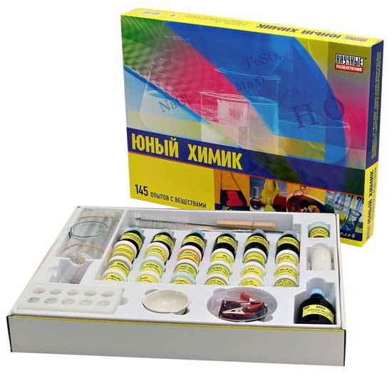 Большой набор юный химик купить в интернет-магазине robinzoniya.ru.