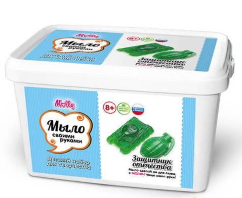 Набор для создания мыла своими руками Защитник отечества купить в интернет-магазине robinzoniya.ru.