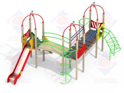 Детский игровой комплекс 3.165 H=1500