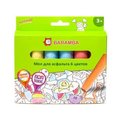 Baramba Мелки цветные для асфальта купитьв интернет-магазине robinzoniya.ru.