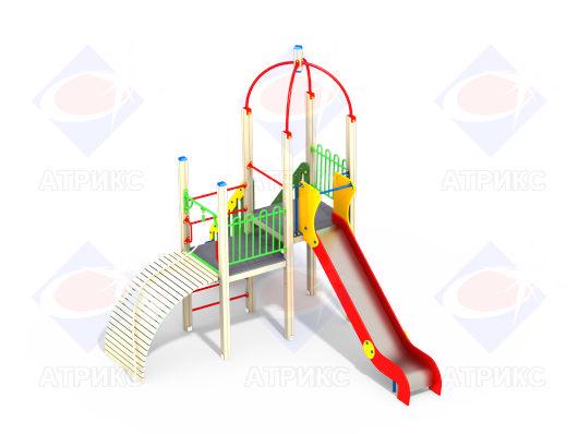 Детский игровой комплекс 1.225 купить в интернет-магазине robinzoniya.ru.