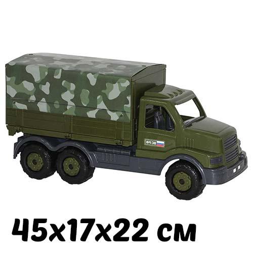 Машинка для детского сада Сталкер бортовой тентовый купить в интернет-магазине robinzoniya.ru.