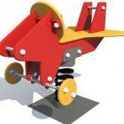 Качалка на пружине Самолет 6112