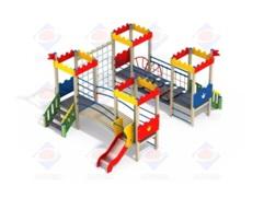 Детский игровой комплекс 4.05 Форт Н=700
