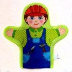 Кукла рукавичка Строитель