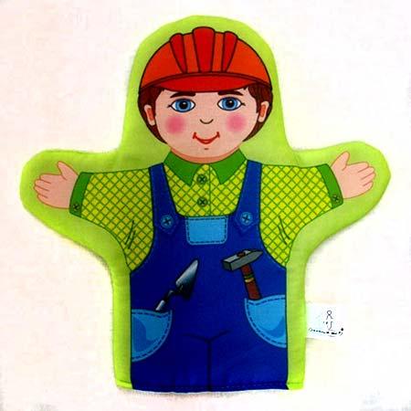 Кукла рукавичка Строитель купить с доставкой по России в интернет-магазине robinzoniya.ru.