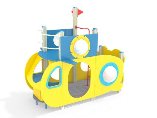 Домик Подводник МФ 5.39 для детской площадки купить в Воронеже в интернет-магазине robinzoniya.ru.