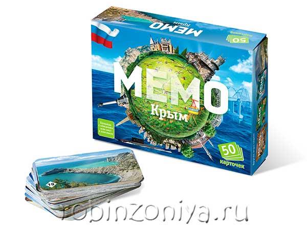 Игра Мемо Крым купить в интернет-магазине Робинзония.