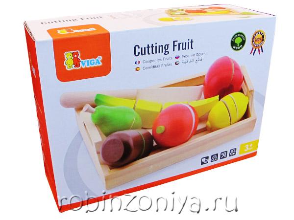 Разрезные фрукты Viga купить с доставкой по России в интернет-магазине robinzoniya.ru.