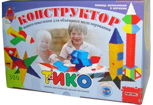 Конструктор Тико Грамматика купить в интернет-магазине robinzoniya.ru.