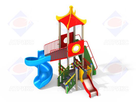 Детский игровой комплекс 9.02 купить в Воронеже в интернет-магазине robinzoniya.ru.
