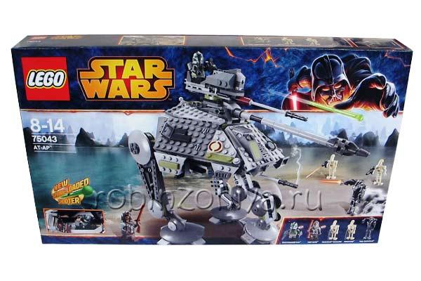 Конструктор Lego Star Wars (Стар Ворс) 75043 Шагающий танк АТ-АР купить с доставкой по России в интернет-магазине robinzoniya.ru.