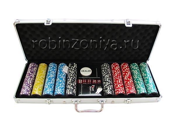 Набор для покера Ultimate на 500 фишек в металлическом кейсе купить в Воронеже в интернет-магазине robinzoniya.ru.