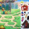 Игра с волшебными наклейками Три поросенка