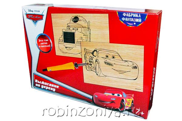 Прибор для выжигания с доской Тачки: Маквин и Мак купить с доставкой по России в интернет-магазине robinzoniya.ru.