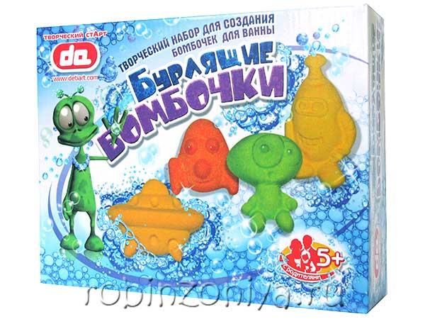 Набор бурлящие бомбочки для ванны Инопланетяне купить в интернет-магазине robinzoniya.ru.