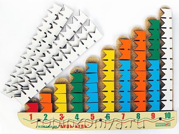 Кораблик Буль-буль развивающая игра Воскобовича купить в интернет-магазине robinzoniya.ru.