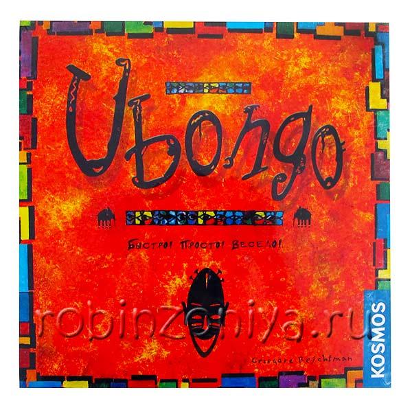 Игра настольная Убонго купить в интернет-магазине robinzoniya.ru.